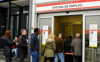 Spain job seekers